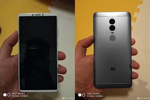 Tak podobno ma wyglądać Xiaomi Redmi Note 5 / fot. Weibo