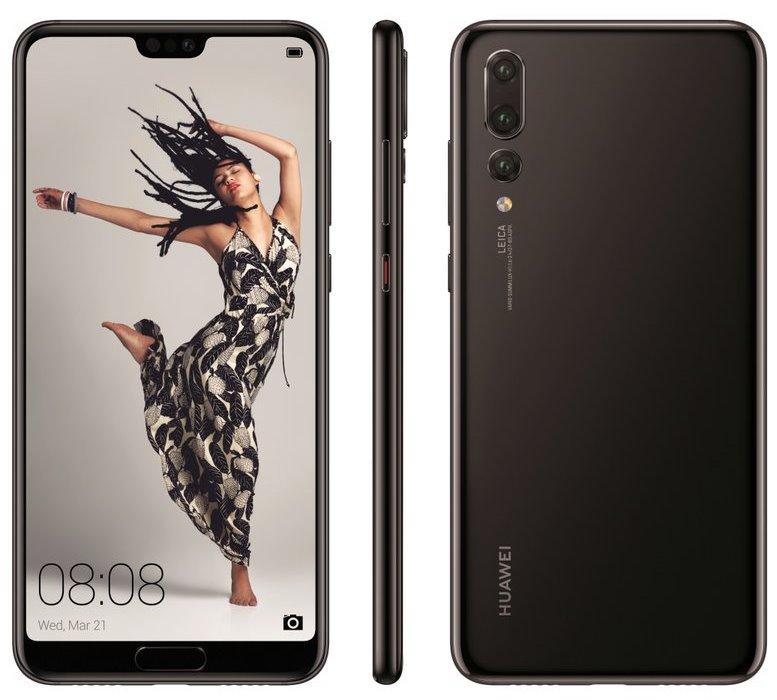 Huawei P20 Pro / fot. Evan Blass