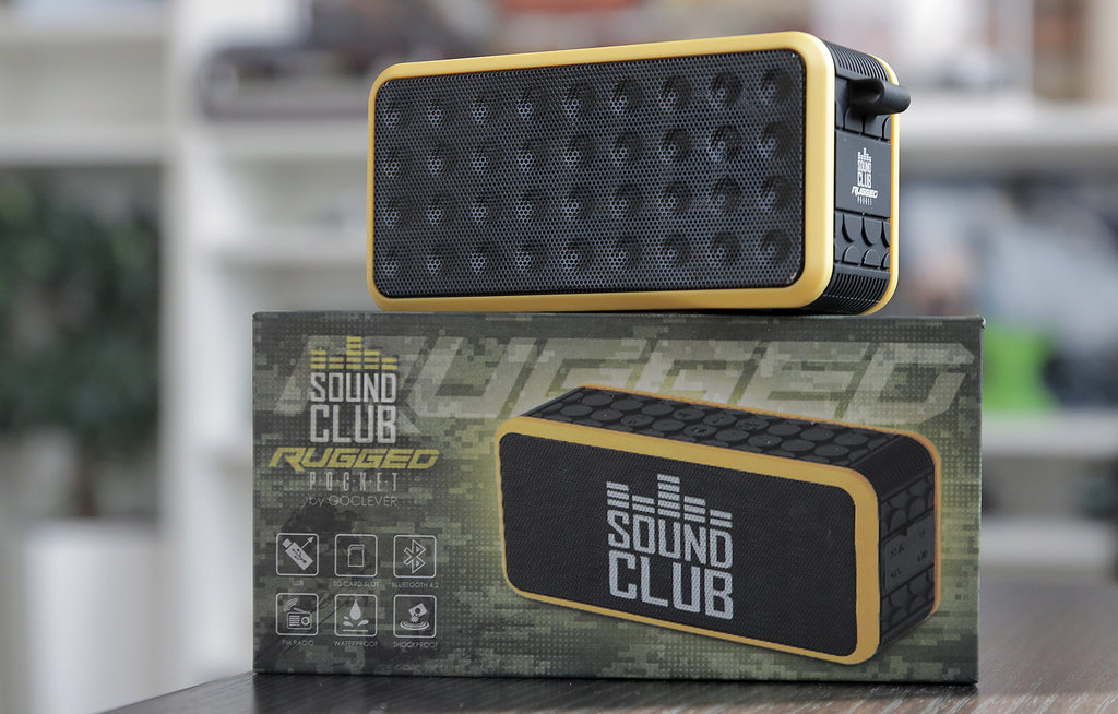 GoClever Sound Club RUGGED Pocket / fot. gsmManiaK.pl