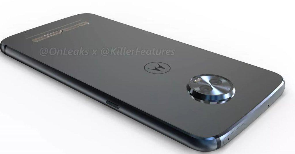Moto Z3 Play na wizualizacji / fot. KillerFeatures
