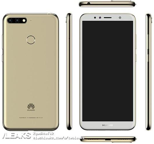 Huawei Enjoy E8/ fot. Slashleaks