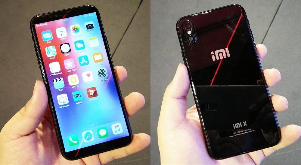 iMI X, czyli iPhone X + Xiaomi / fot. Tera Aungruttanun
