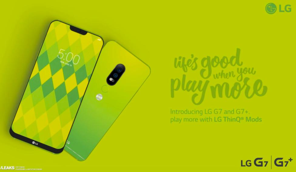 LG G7/fot. SlashLeaks