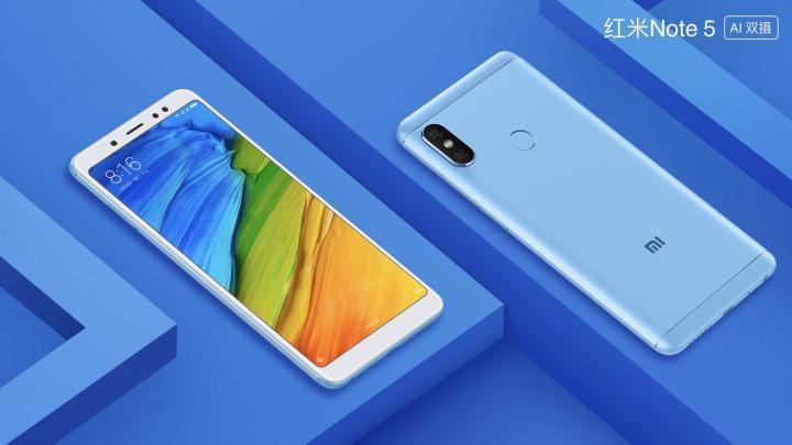 Xiaomi Redmi Note 5 / fot. producenta