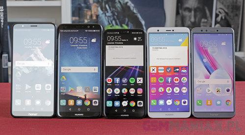 Smartfony Huawei cieszą się sporą popularnością w Europie / Fot. gsmManiaK.pl