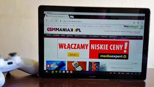 Huawei MediaPad M5 / fot. gsmManiaK.pl