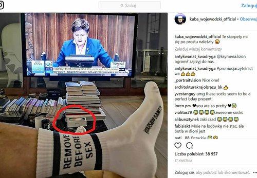 Fot. Instagram, Kuba Wojewódzki