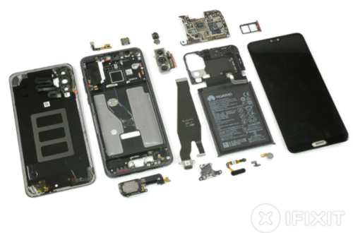 Huawei P20 Pro/ fot. iFixit