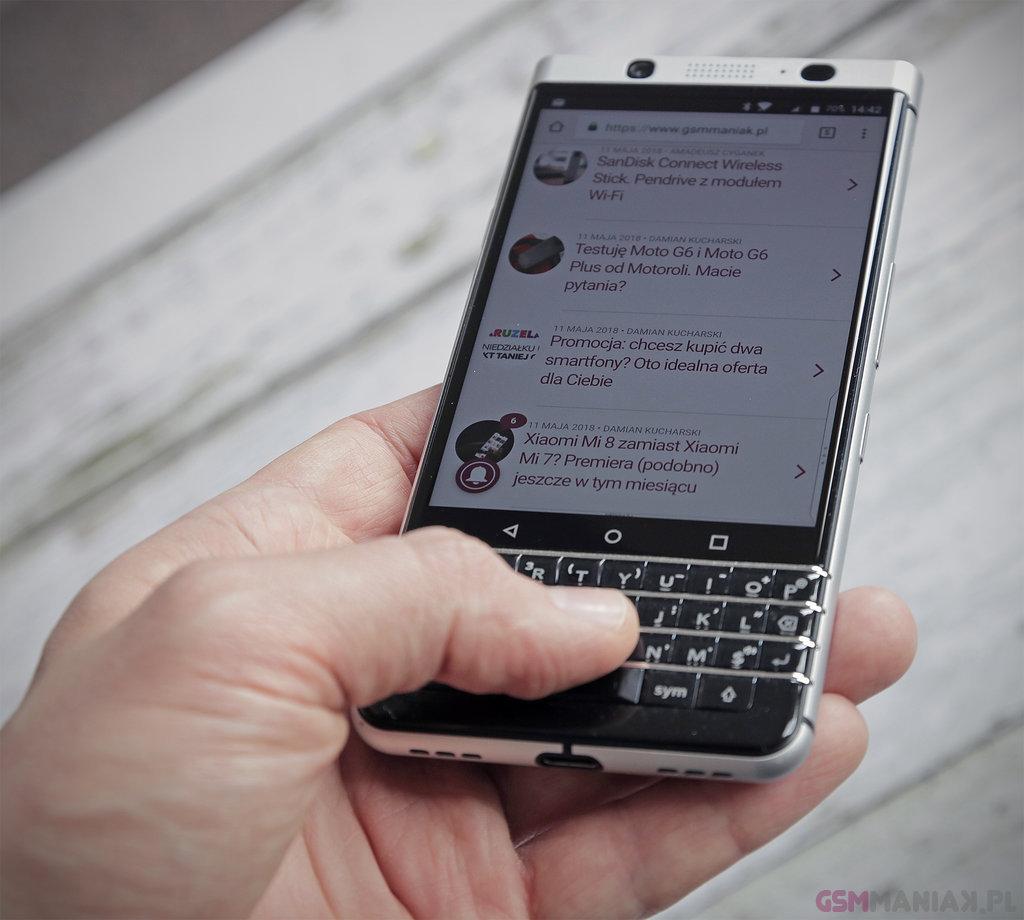 BlackBerry KEYone / fot. gsmManiaK.pl