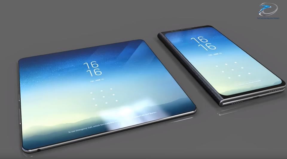 Możliwy wygląd Samsunga Galaxy X