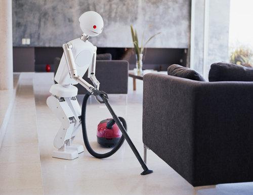 fot. Sprzątający robot