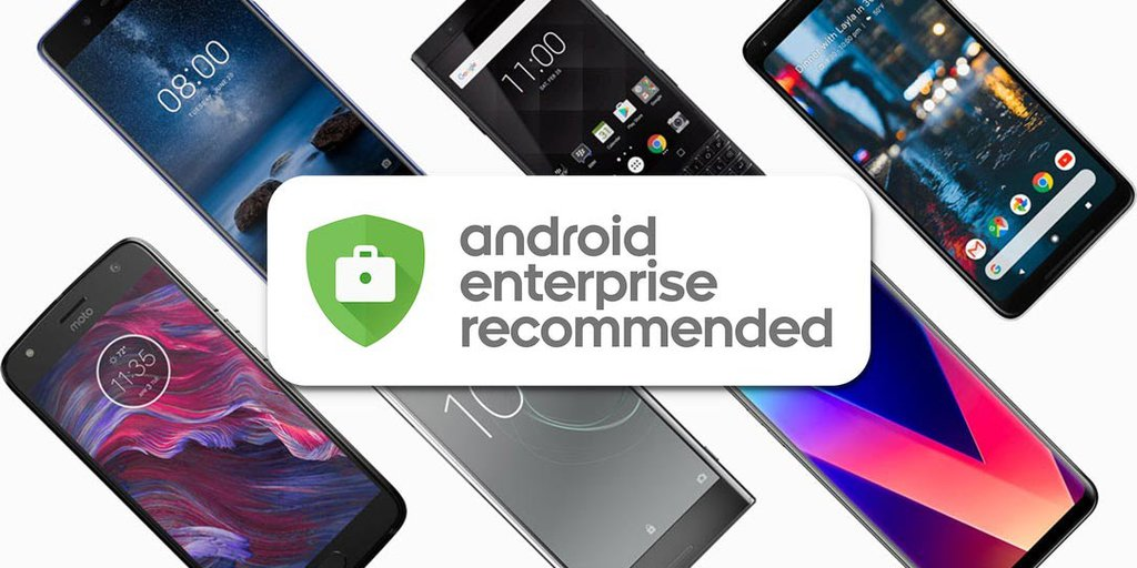 Google Android Enterprise Recommended/ Fot. Google
