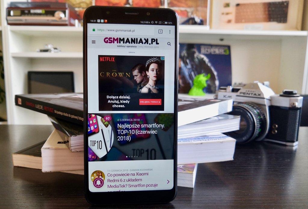 Xiaomi Redmi 5 Plus/ fot. gsmManiaK.pl