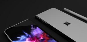 Concept Surface Phone/Fot. David Breyer