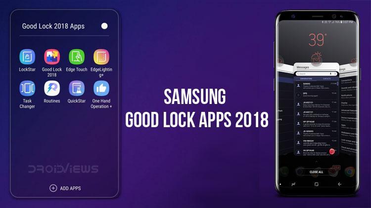 Samsung Good Lock 2018/fot. Samsung