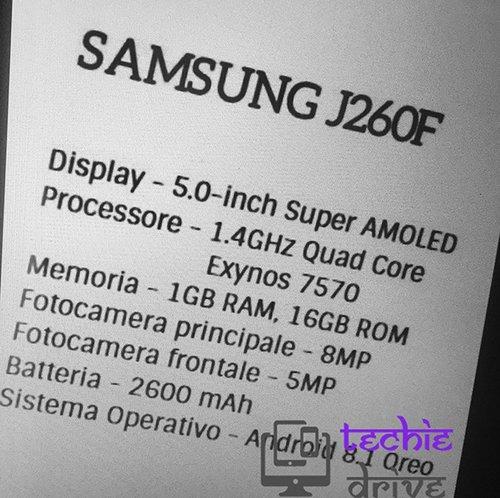 Samsung SM-J260F