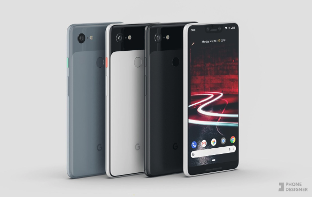 Google Pixel 3 XL/ fot. Phone Designer