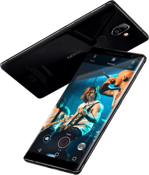 Nokia 8 Sirocco/ fot. Producenta