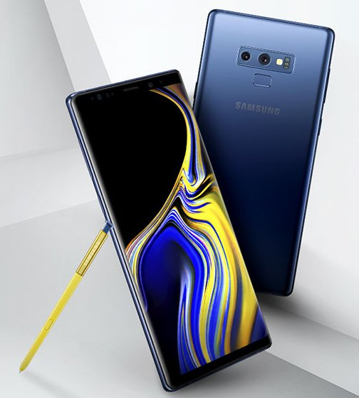 Samsung Galaxy Note 9 / fot. Evan Blass
