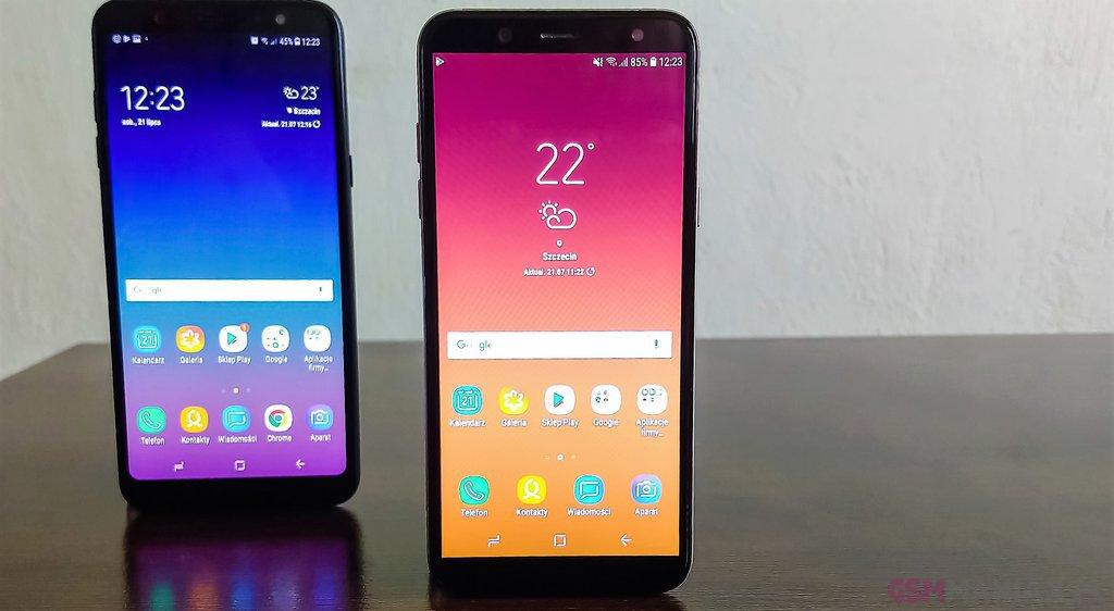 Samsung Galaxy A6 i Galaxy A6+ / fot. gsmManiaK.pl