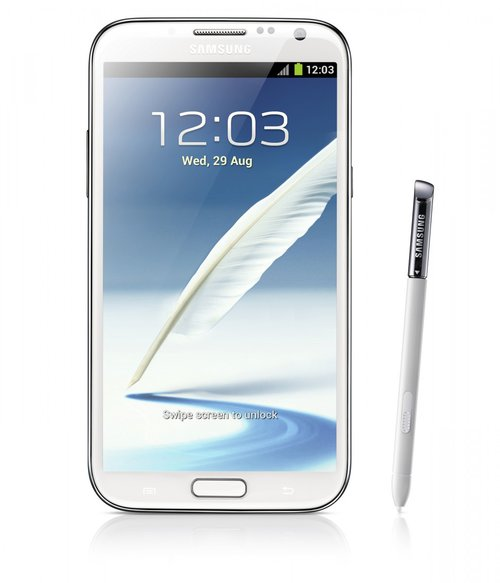 Samsung Galaxy Note II / fot. producenta