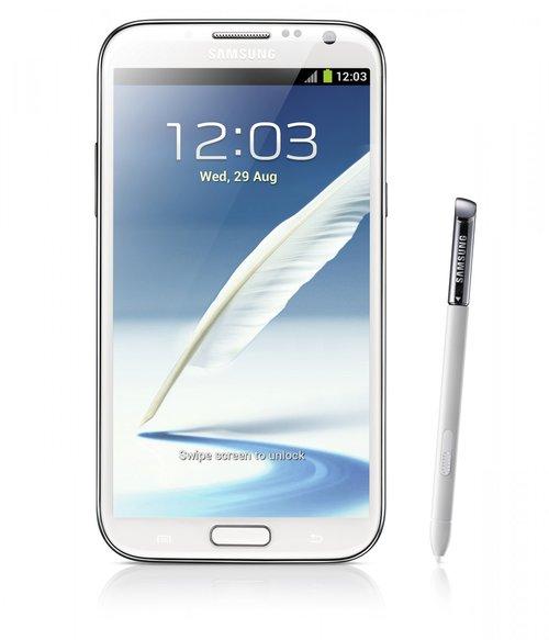 Samsung Galaxy Note II / fot. producenta