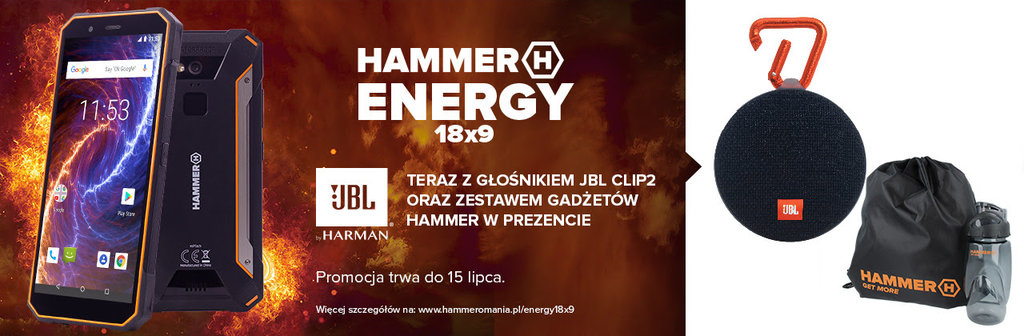 myPhone HAMMER Energy 18x9 / fot. mPTech