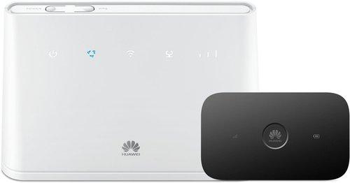 Huawei B310 LTE + Huawei E5573Cs