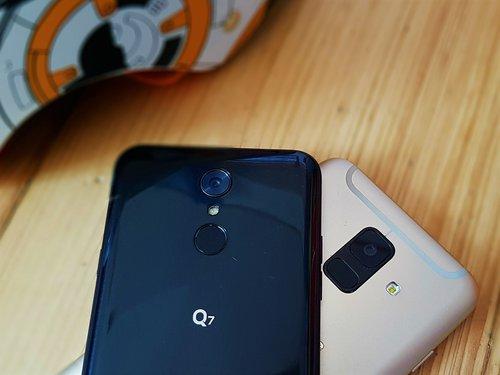 SamsungaGalaxy A6 i  LG Q7 / fot. gsmManiaK.pl
