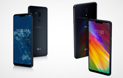 LG G7 One oraz G7 Fit / fot. LG