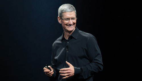 Tim Cook, Apple CEO / fot. GeekWire