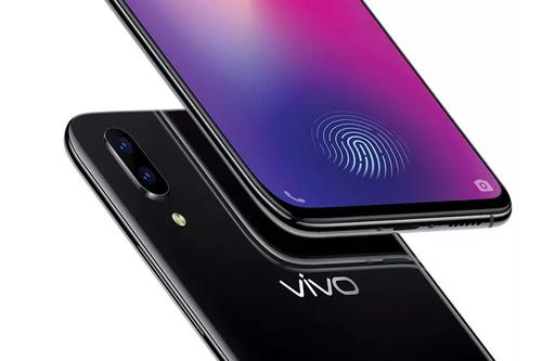 VIVO X21 - prekursor wbudowanego w ekran czytnika / fot. VIVO