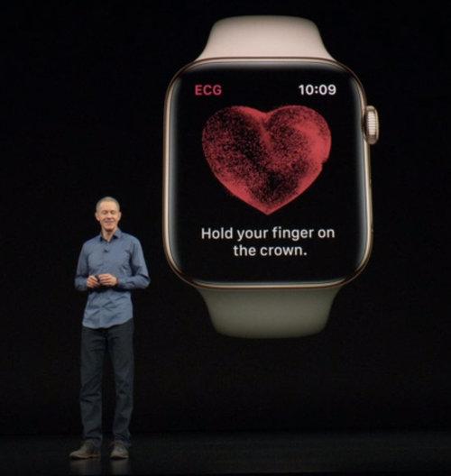 Apple Watch 4 z EKG / fot. Apple