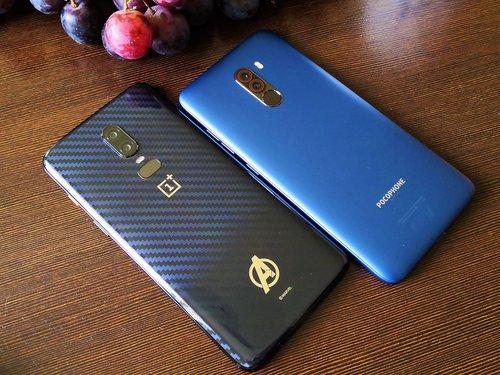 OnePlus 6 i POCO F1 / fot. gsmManiaK.pl