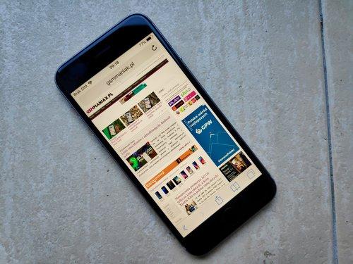 iPhone 6S/fot. gsmManiaK.pl