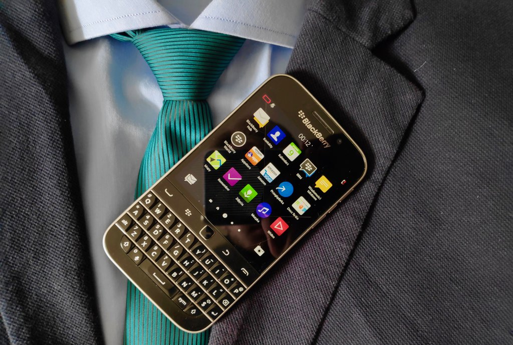BlackBerry Classic/fot. gsmManiaK.pl