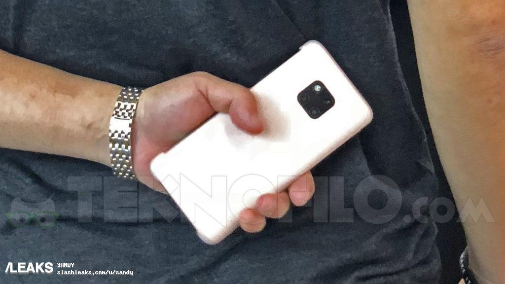 Huawei Mate 20 Pro dostrzeżony na IFA'18 / fot. Teknofilo.com via slashleaks