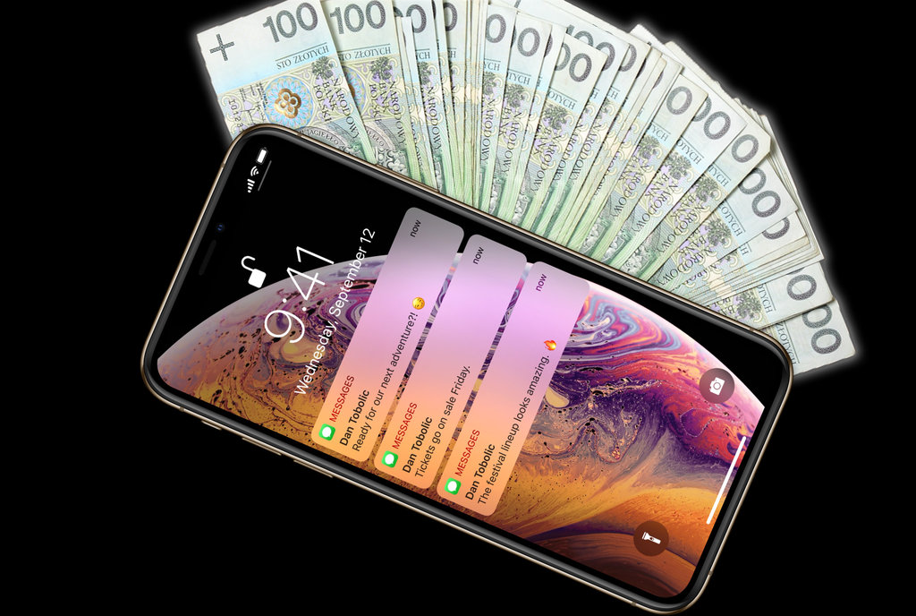 iPhone 2018 money