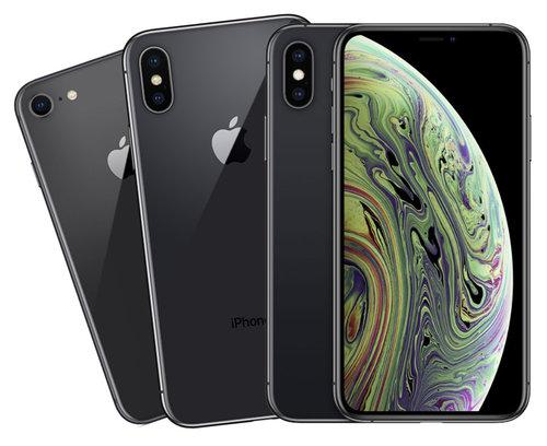 porownanie iphone xs x 8 c
