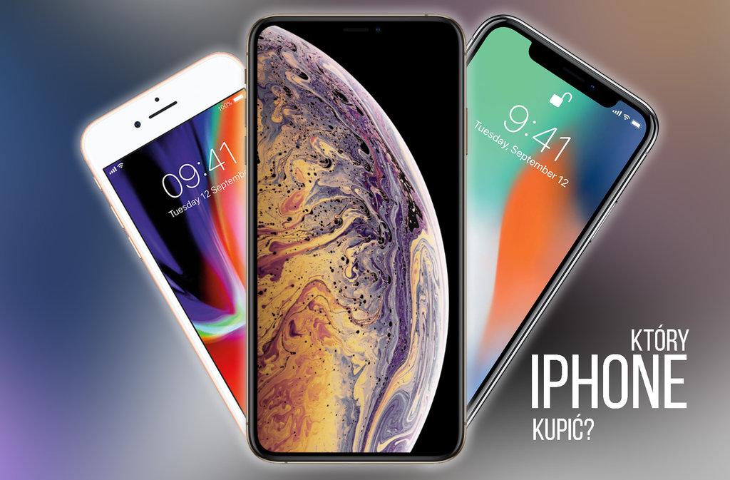 porownanie iphone xs x 8 e