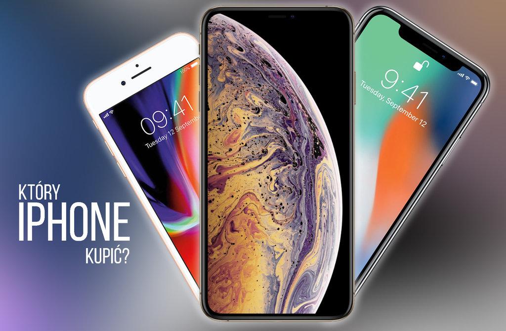 porownanie iphone xs x 8 f