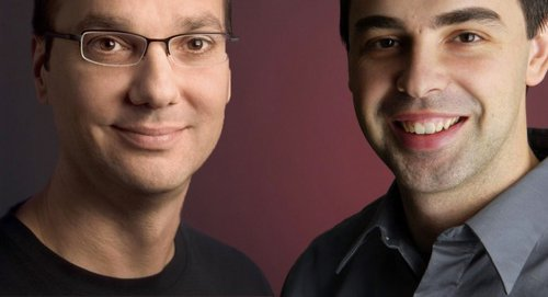 Andy Rubin i Larry Page / fot. phonearena