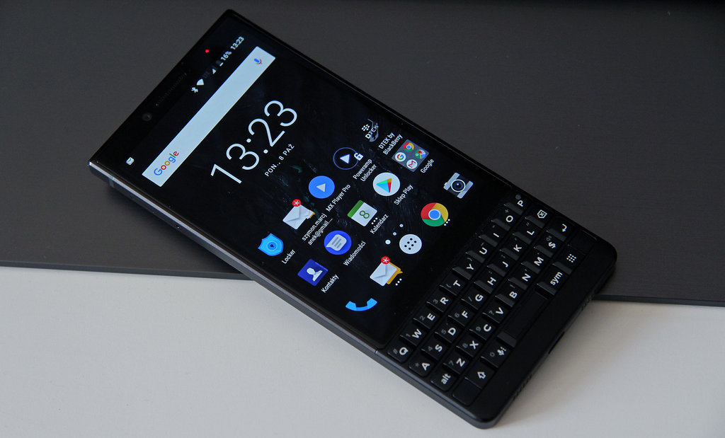 BlackBerry KEY2 / fot. gsmManiaK.pl