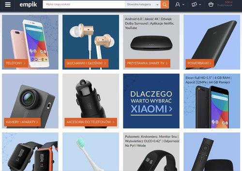 """21e1fd5f2754c Empik odpalił """"strefę Xiaomi"""". Czy warto z niej skorzystać ..."""