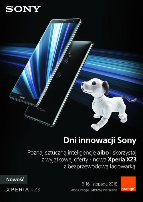 Sony Xperia XZ3_Orange