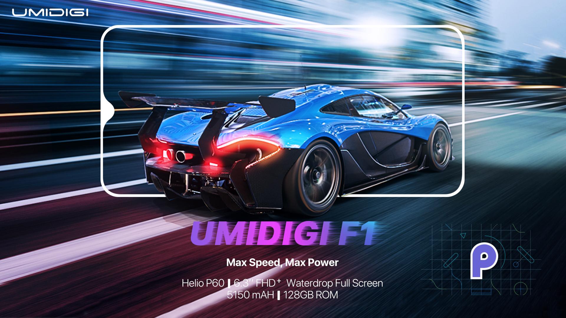 UMIDIGI F1 pierwszym smartfonem tego producenta z Android 9.0 Pie
