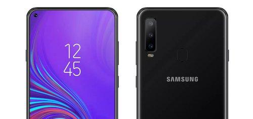 Galaxy A8s z wyświetlaczem Infinity-O / fot. AllAboutSamsung