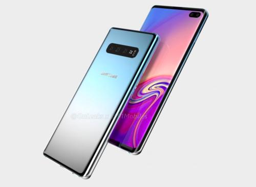 Samsung Galaxy S10 Plus/fot. OnLeaks