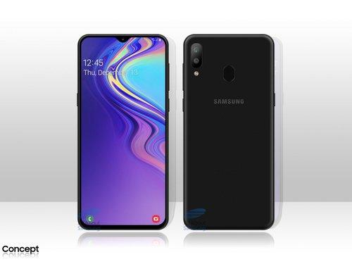 Mniej więcej tak ma wyglądać Galaxy M20 / fot. All About Samsung