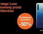 Teraz w Orange Love możesz mieć świetne smartfony za pół ceny